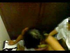 Meksikolaisia Pari nussii WC