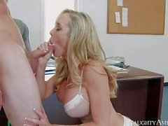Big titted mature beauty Brandi Love loves young dick