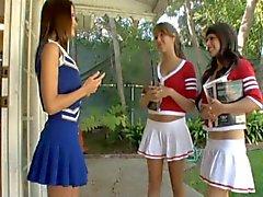 Verführung eines Cheerleader.