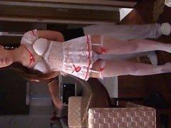 Chinese Nurse Cosplay Bondage