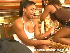 Submissive guys and Ebony mistresses in action