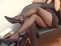 De Suzana de collants noirs