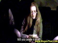 Public spex euro amateur sucks cabbie cock