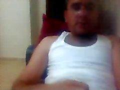 diferentes indivíduos em linha reta pés de na webcam