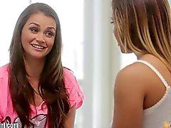 MommysGirl Lisa Ann Instructs Young Lesbians