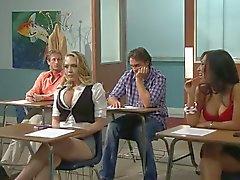 Kagney de Linn Kater folla su profesor de italiano