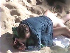 Voyeur am öffentlichen Strand Sex