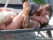 Sexy sluts go crazy rubbing part4