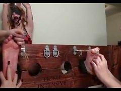 Крошка Татуированный Бури Наказанная !