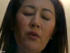 Chisato Miura Mature Japanese Hairy Pussy Creampied