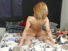 Amateur Schleifen Pärchen Blondine Motherfuck Sexvideo