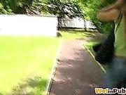 Public playground pant-pissing accident