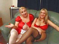 британцы Большие красивые женщины секс втроем