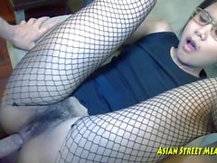 Asian Whore gets Ass Fucked
