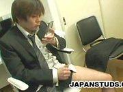Hiroki Nishi: Porno adicto al tipo de Japón Masturbándose