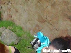 Più calda escursionismo 3some! Alex leggenda scopa Sarah Shevon & Penny Pax!