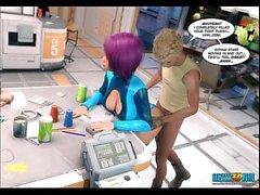 3D Comic: Echo. Episode 1