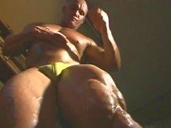 Flexiblen Master Muskel Worship 3