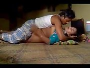 Desi couple licking pussy with fucking on floor.