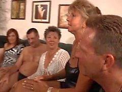 Granny yksityinen osapuoli MILF orgia