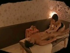 Asian masseuses on hidden cam