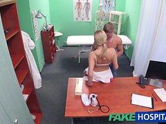 FakeHospital prigioniera cums tutto il infermieri stomaco
