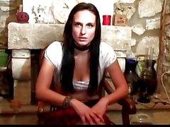 nett französisch Jugendliche erste anal Casting Video