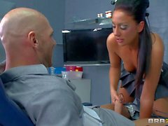 Tiffany Brookes fucking a man at the hospital