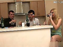 Vollbusige Amateur- Gruppensex Sex