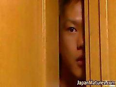 La Misa Yuki realmente sexy asia madre Parte5