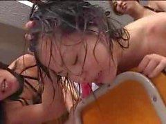 Japanese girls kiss843