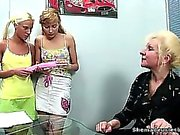 Kristina and Mira were lucky having such a perverted