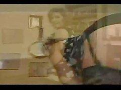 MILF Венди волосатая киска анальный Секс DP