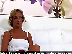 Skinny milf fucks in casting office