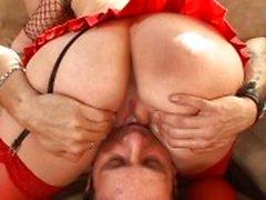 Sexy jalkaa pelien kanssa Anetten
