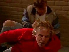 Brooke Hunter sarışın sürtüksokakta dövülerek