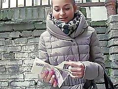 Czech girl Ashley Woods banged for cash