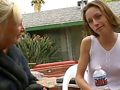 Oma Anastasia Sands verleidt Young Vanessa Mackenzie