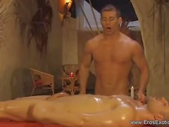 Schöne Massage für sein Vergnügen