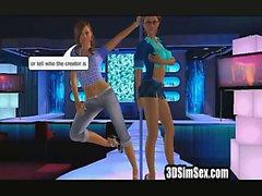 Танцы стрип-клубе
