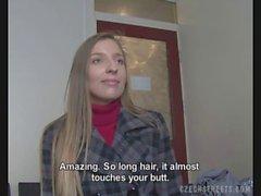 Femme tchèques ramassé pour la coulée de de sexe