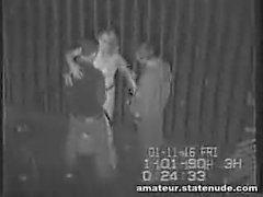 Jugendlich Gang Bang An Sicherheit cam