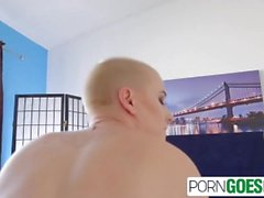 PornGoesPro - Big booty Riley Nixon is pounded by a moster cock, big boobs