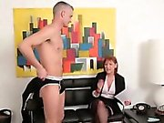 Clothed mocking fetish dominas
