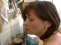 Bonmot Fick in der Küche
