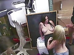 Big cock blowjob for lesbian amateurs for cash