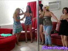 Upea Cameron ja Nina tanssi ja nai Party