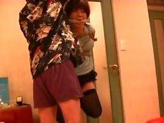 ein sm Bondage-Model in der Liebe Hotel Jyosoukofujiko werden