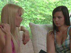 Sophie Moone and Eve Angel Lesbian Adventure