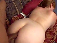 SEXY BBW MILF BBC creampie alır ( o kız sevimli)